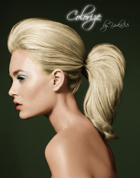 Cambiare colore di capelli con gimp